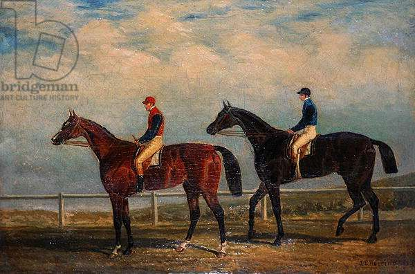 The Ascot Cup, 1829 (oil on canvas)