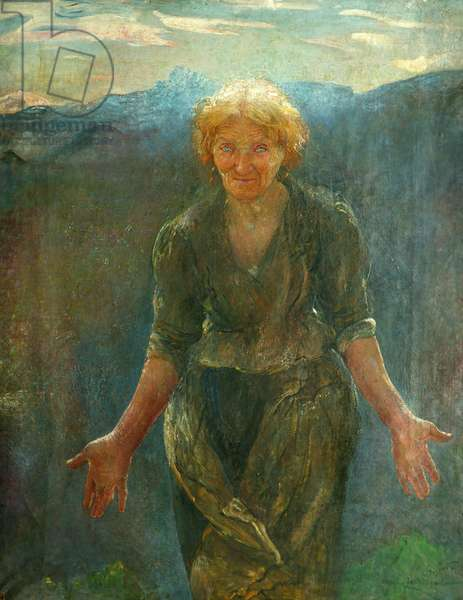 The Southing of the Sun, 1911 (oil on canvas)