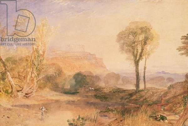 Powis Castle, Montgomeryshire, c.1835 (w/c on paper)
