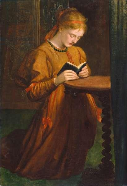 May Prinsep (Prayer) 1867 (oil on canvas)