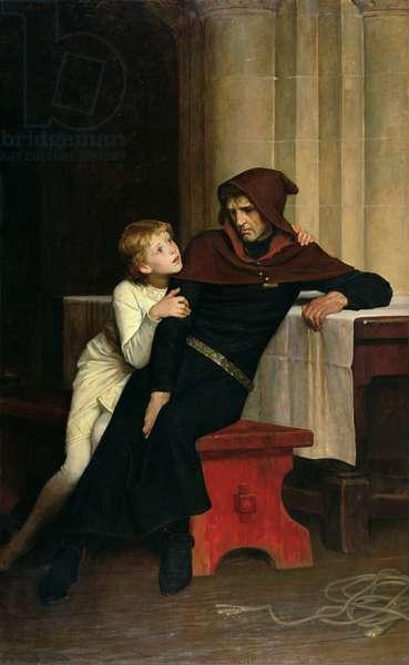 Prince Arthur and Prince Hubert, 1882 (oil on canvas)