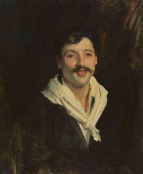 An Italian Sailor (oil on canvas)