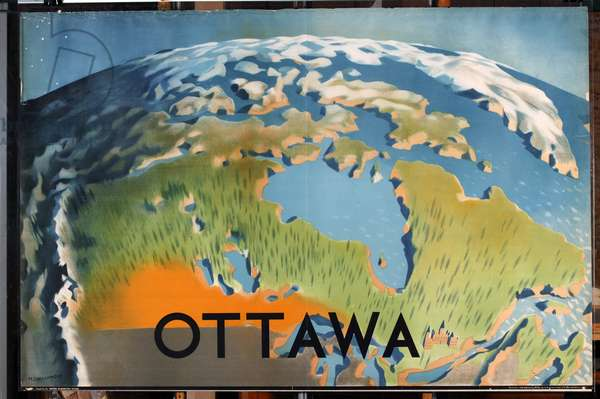Ottowa, from the series 'Advance Empire Trade' [6319404] (colour litho)