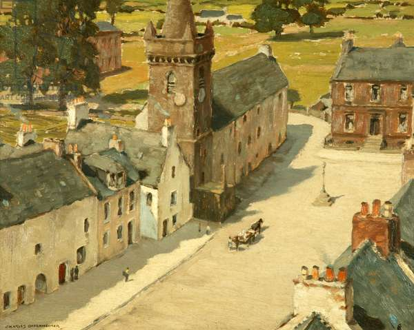 The Old Tolbooth, Kirkcudbright, 1931 (oil on panel)