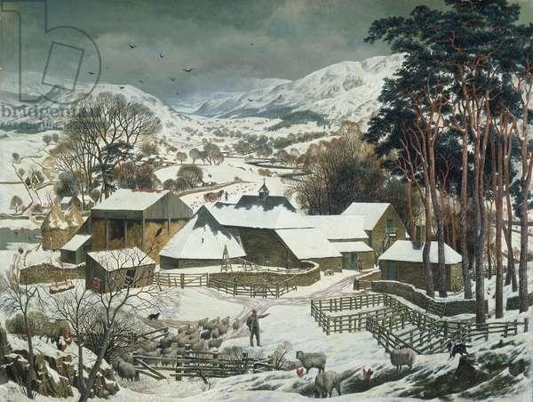 The Ettrick Shepherd, 1936 (oil on canvas)