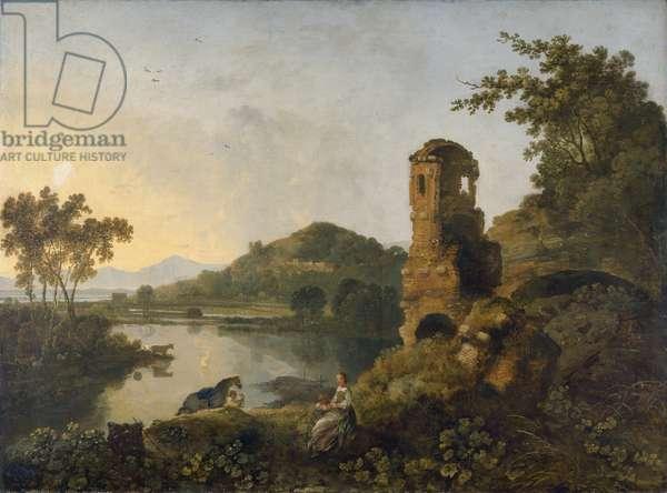 Cicero's Villa, 1760-63 (oil on canvas)