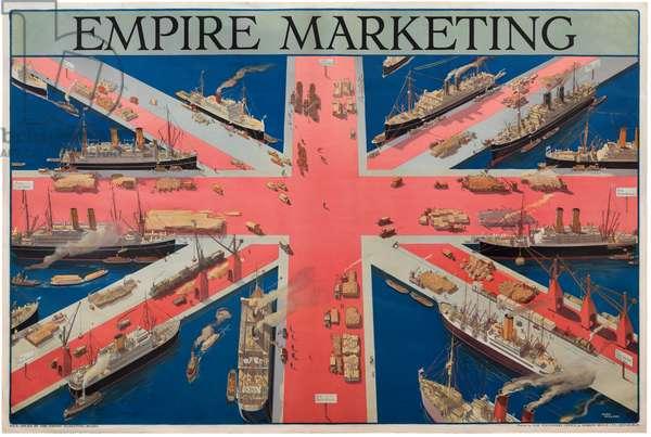 Empire Marketing (colour lithograph)