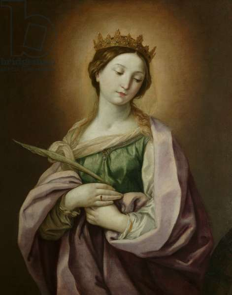 St Catherine, c.1638-40 (oil on canvas)