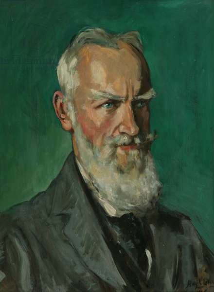 George Bernard Shaw, 1925 (oil on panel)