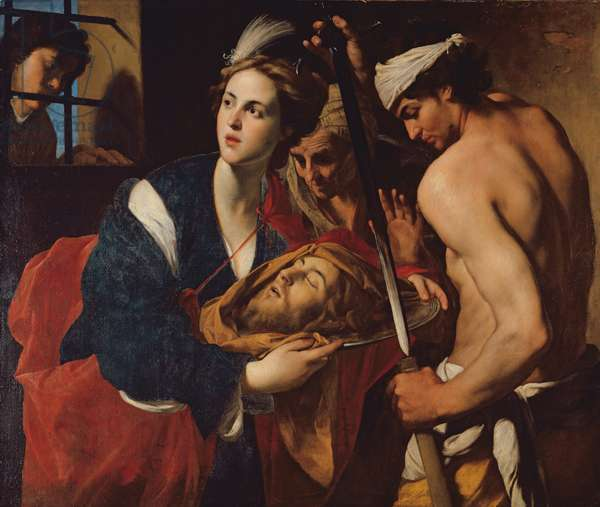 Salome with the Head of John the Baptist (oil on canvas)