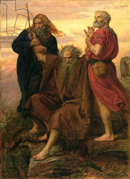 Victory O Lord, 1871 (oil on canvas)
