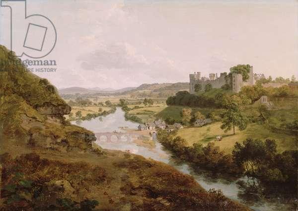 Ludlow Castle, Shropshire, 1792 (oil on canvas)