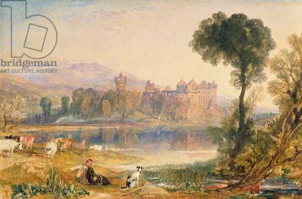 Linlithgow Palace, 1821 (w/c & bodycolour on paper)