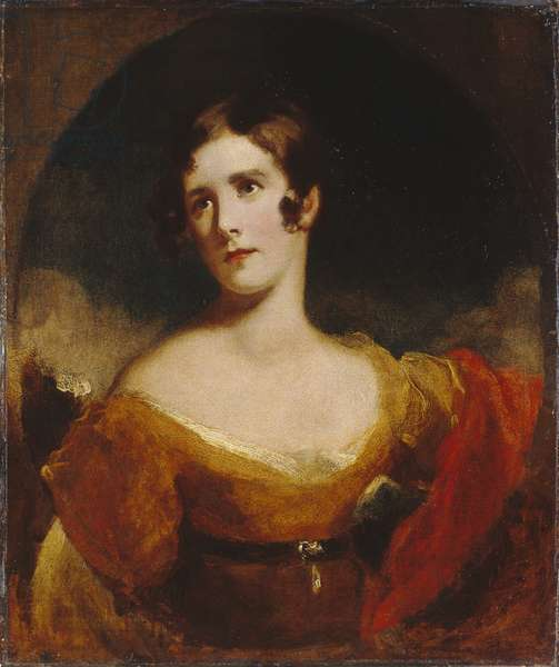 Miss Eliza Calvert (oil on canvas)