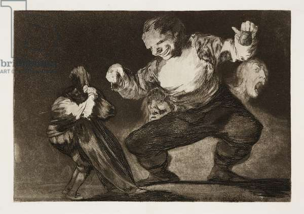 Bobalicón (Silly Idiot), 1864 (etching, aquatint & drypoint)
