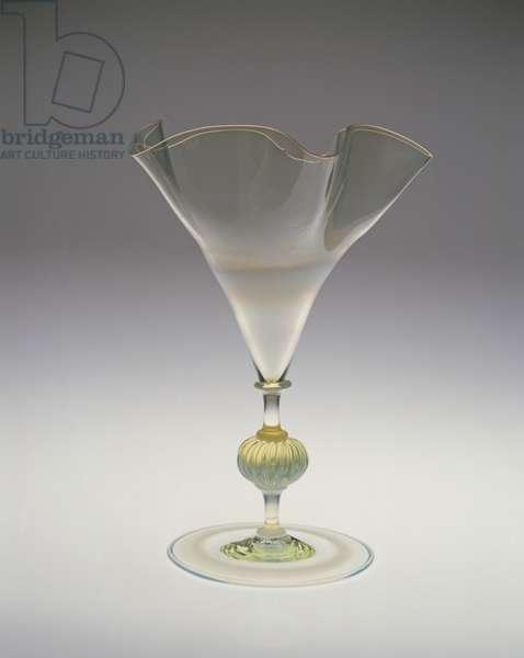 Vase, 1878-1910 (glass)