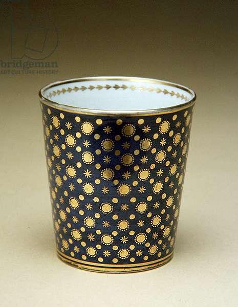 Beaker, 1790-1800 (soft-paste porcelain)