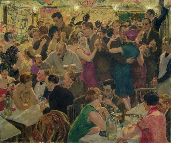 Night, 1926 (oil on canvas)