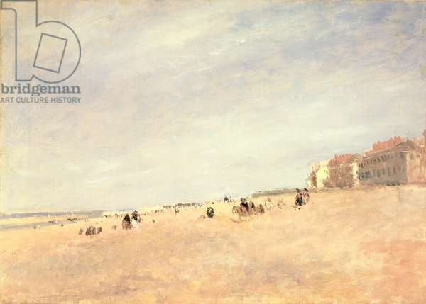 Rhyl Sands, c.1854 (oil on canvas)