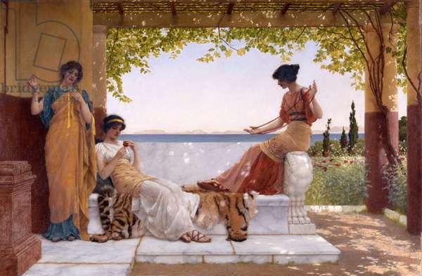 On the Balcony, 1898 (oil on canvas)