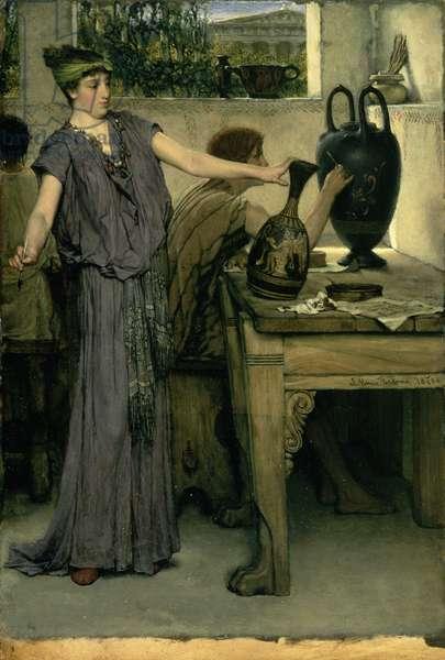 Etruscan Vase Painters, 1871 (oil on canvas)