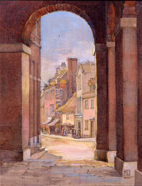 South Street, Port-Bredy, 1925 (oil on linen)