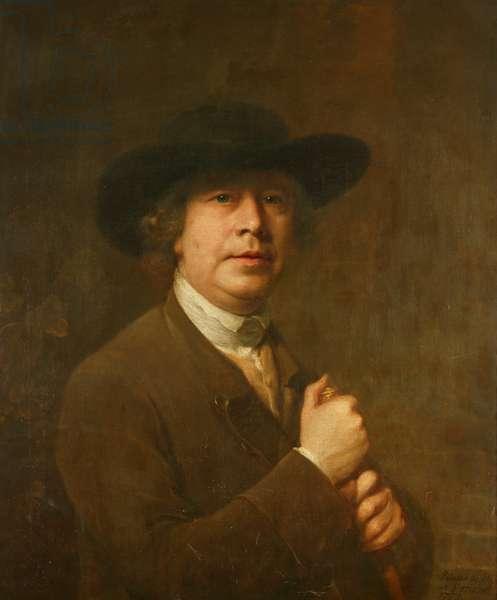 Self-portrait, 1778 (oil on canvas)