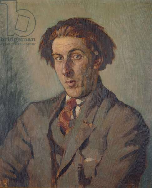 Portrait of Rowley Smart, 1925 (oil on panel)