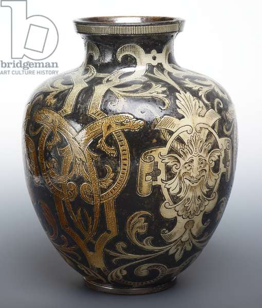 Vase, 1895 (ceramic)