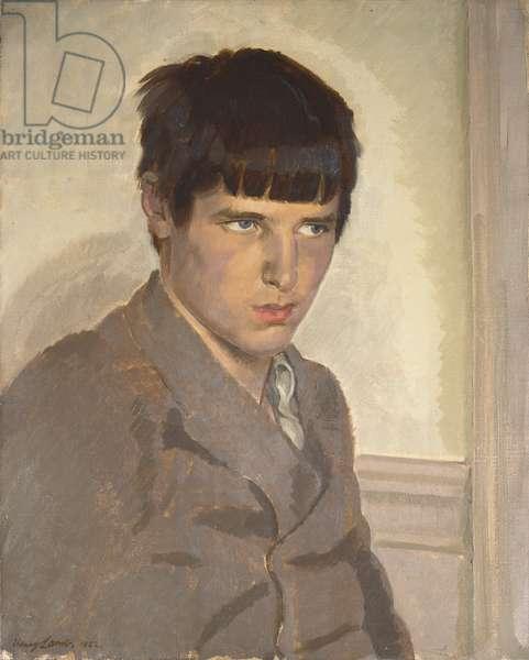 David John, 1922 (oil on canvas)