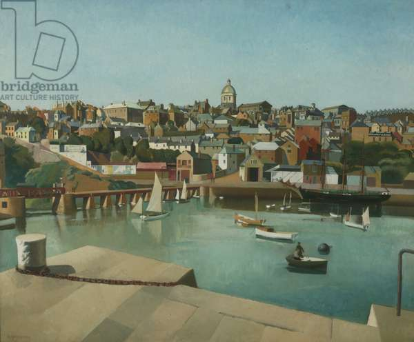 Penzance, 1930 (oil on millboard)