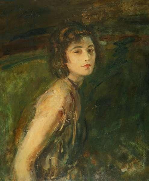 Miss Teddy Gerrard, 1921 (oil on canvas)