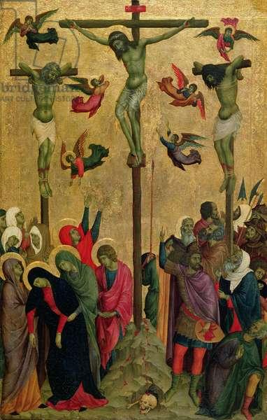 The Crucifixion, c.1315-30 (tempera on panel)