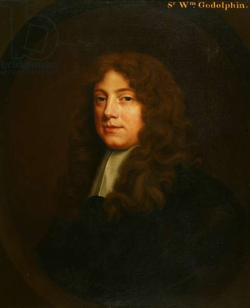 Sir William Godolphin, 1660-70 (oil on canvas)