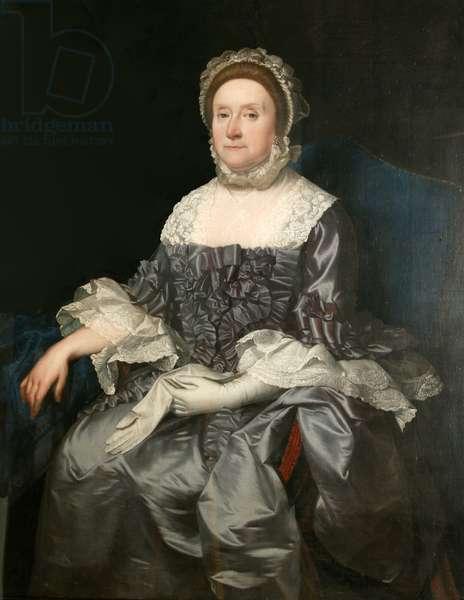 Deborah Worsley of Platt, 1765-70 (oil on canvas)