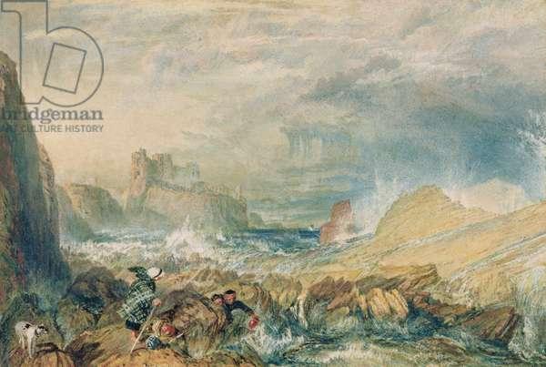 Tantallon Castle, 1821 (w/c on paper)