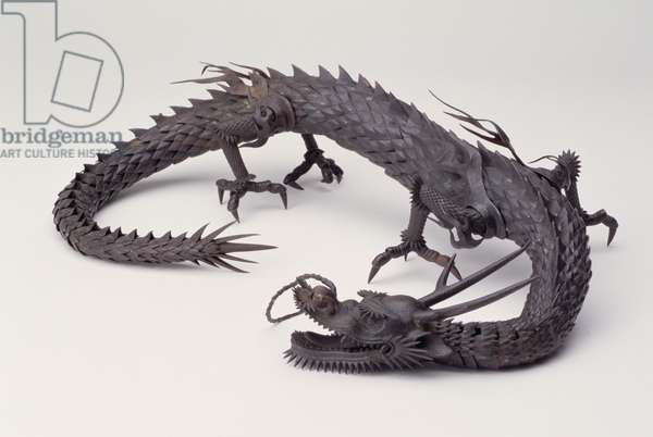 Fafner or Dragon (wrought iron)