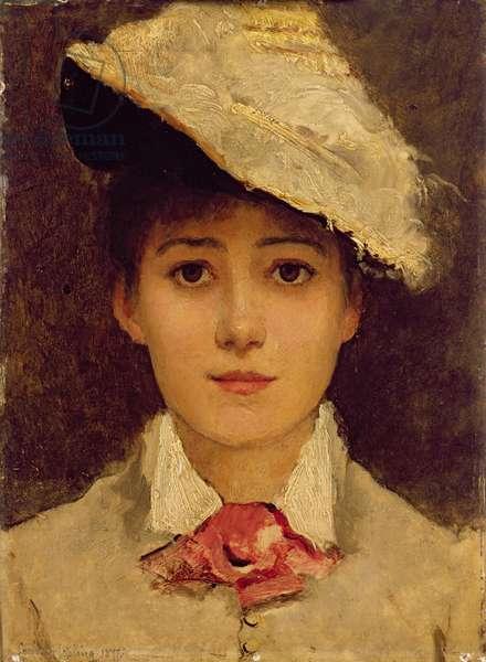 Self-Portrait, 1877 (oil on panel)