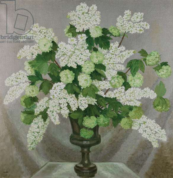 Lilac and Guelder Rose, c.1932-37 (oil on canvas)