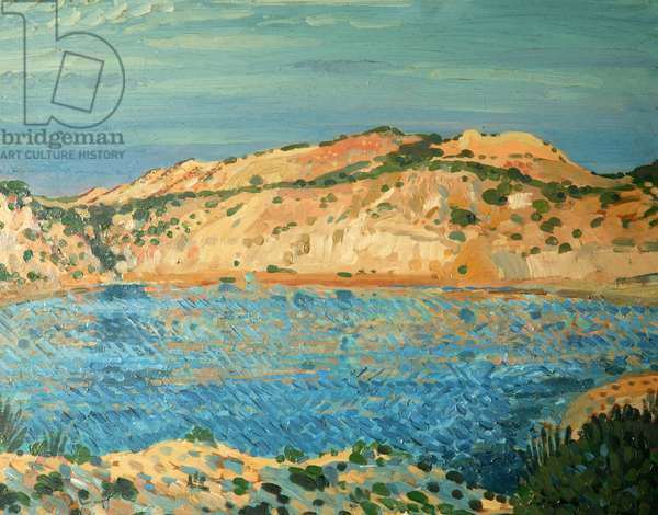 The Blue Pool, 1911 (oil on canvas)