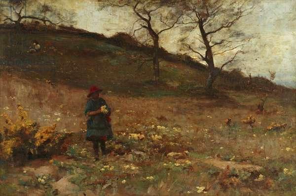 Springtime (oil on canvas)