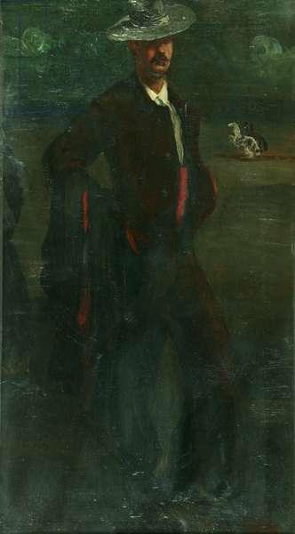 Ignacio Zuloaga As A Torero, c.1895 (oil on canvas)