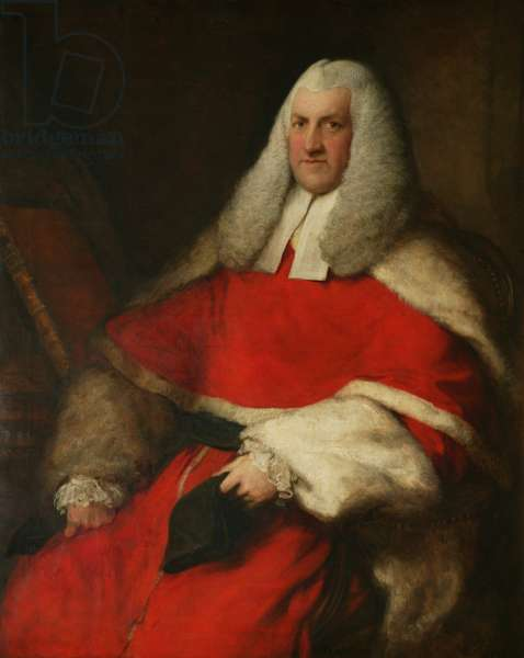Sir Richard Perryn (1723-1803) 1778-79 (oil on canvas)