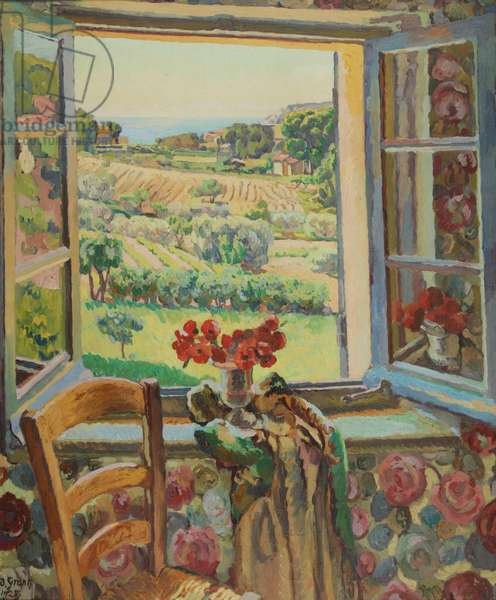Window, South of France, 1928 (oil on canvas)
