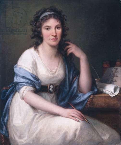 Ellis Cornelia Knight, 1793 (oil on canvas)