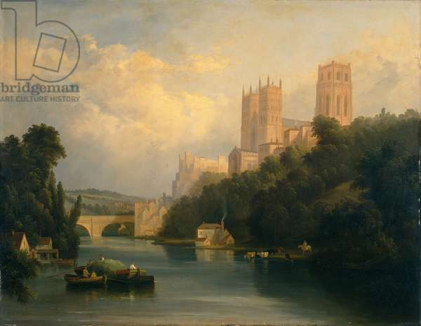 Durham Cathedral (oil on canvas)