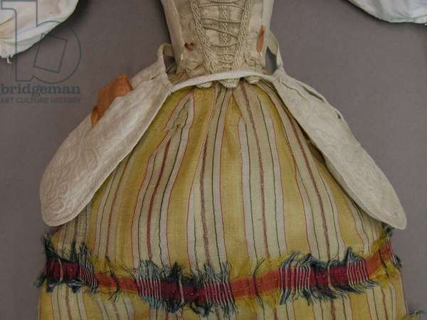Detail of a doll, 1740-60 (mixed media)