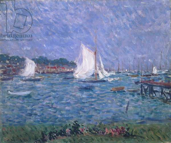 Summer at Cowes, 1888 (oil on canvas)