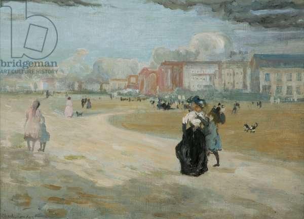 Dieppe, 1895 (oil on canvas)