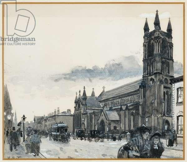 Holy Trinity Church, Stretford Road, 1893-94 (w/c gouache on paper)